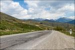 Strada verso Noravank