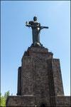 Yerevan- statua della Madre Armenia