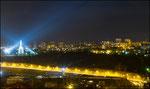 Yerevan - notturno con la statua della Madre Armenia