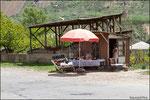 Strada per Noravank - punto ristoro
