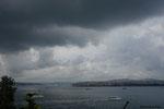 Istambul -Veduta del Bosforo