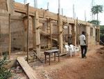 2012 Slaapzalen in aanbouw