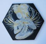 Goldene Herzenskraft  (Stein:Citrin) dm ca 40cm   - bereits vergeben