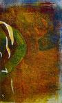 O.T., 2015, Monotypie, Acryl, 13,0 x 8,0 cm