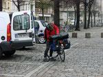 Er hat die Zusage, dass das Visum an die Weißrussische Grenze