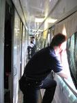 im Zug nach Kazaan