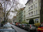 Taunusstr. -  in Berlin, wo er 6 Tage auf Visum und besseres Wetter gehofft hat.