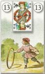 Lenormand Karte Nr.13 *Das Kind*  Bilder zu Dondorf Kartendeck