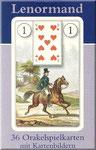 Dondorf Karten Wahrsagekarten Abbildung des Kartendeck Orakelkarte