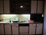 Küche vorher...