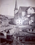 Wiltz in ruins