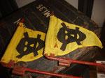 German Mine flags