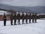 Sigolsheim, 1. February 2015 - French Army Honor Guard