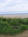 View from a German Tobruk down Omaha Beach