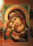 Образ Игоревской Божьей Матери.