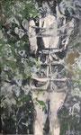 2017 Shibari 2 60x100cm 1600,-€  (bei mir im Atelier)