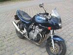 ds erste richtige Motorrad, die GSF 600 Bandit