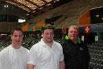 v.l.n.r: Damian, Florian und Erich Gnägi