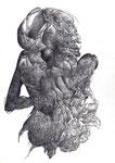 """""""Sans titre""""/crayon sur papier/29,7x21cm/2012 (collection particulière)"""
