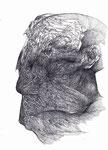 """""""Sans titre""""/crayon sur papier/29,7x21cm/2012."""