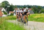 Mannschaftszeitfahren in Bad Saulgau 1