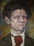 Gemälde 330. Der junge Heinrich Z. Acryl auf Leinw.,2009,  30 x 40 cm