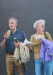 Gemälde 451  Z. Cola  Triptychon links, A. auf Leinw.,2013, 140 x 200 cm