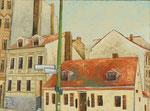 Gemälde 319  Wilmi Ecke Haubach   Acryl auf Lein .,2009,   30 x 40 cm