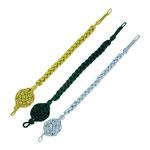 Grüne, silberne und goldene Schützenschnur