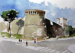 San Gimignano Bastione mura