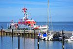 Gerne gesehener Gast im Munkmarscher Hafen und Attraktion für die Fährhaus-Gäste