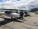 visite prévol des avions