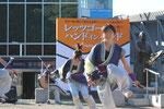 高知大学の炎(ほむら)チームによる鳴子踊り