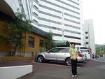 宿泊したベイリゾートホテル。会場から1.5kmと近いので便利。