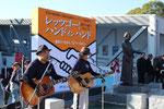 長崎から駆けつけた金子裕則&河村泉兵衛が「RYOUMAからの手紙」を熱唱