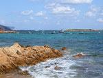 Die kleine Bucht von San Teodoro