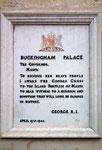 . . . und heisst selbstverständlich: Buckingham Palace