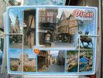 Diese Ansichtskarte bzw. das Städtchen Dinan hat uns angezogen . . .