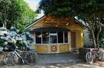 Neubau einer kleinen Boulangerie (sehr viel ist immer noch französisch)