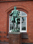 Statue des Johann von und zu Gutenberg (Erfinder des Buchdrucks)