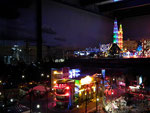 Ein bisschen Kitsch-Beleuchtung im Las Vegas Style