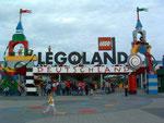 Eingang zum Lego-Land Deutschland