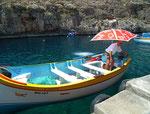 Ein «Muss» für Touristen ist natürlich eine Bootstour . . .