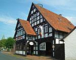 Nochmals ein schönes Riegel-Fachwerkhaus mit Restaurant