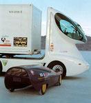 1989 Citröen 2CV und Colani Truck mit cx-Wert von 0.38 !