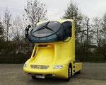 1987 Colani-Truck MERCEDES gebaut in der Schweiz durch LARAG