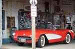 ...natürlich mit einer sehr gut erhaltenen 1957er-Corvette