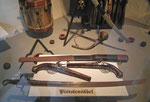 Auch interessante Erfindung: Pistolensäbel (wahrscheinlich mit beschränkter Handlichkeit)