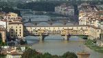 . . . und die Ponte Vecchia