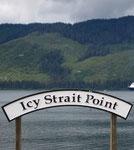 Der kleine Ort am Eingang zum Glacier Bay Nationalpark